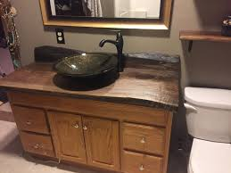 Made To Order Bathroom Cabinets Live Edge Vanity Tops Bar Tops And Counter Tops Made From