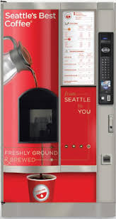 Seattle's Best Vending Machine Delectable Vending Plus