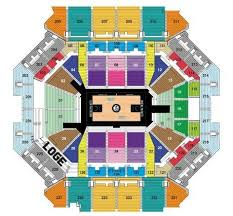 Barclays Wrestling Seating Chart Perspicuous Brooklyn Arena Seating Chart Smoothie King Arena