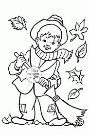 Small Picture Printable Fall Coloring Pages For Toddlers Coloring Coloring Pages