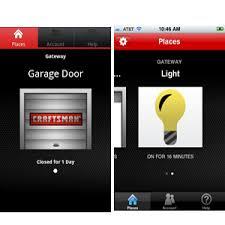garage door appCraftsman AssureLink App Opens Your Garage Door Wirelessly