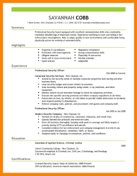 Security Guard Resume Sample Resume Security Guard Resume Sample