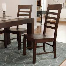 distressed wood donnovan dining chairs set of 2 world market