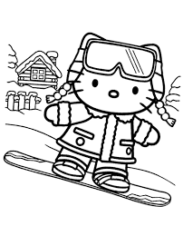 She cooks cookies to perfection, loves to collect cute things, and has a preference for english language, music and art. Winter Hello Kitty Printable Picture Topcoloringpages Net