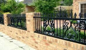 simple wrought iron fence. Wrought Iron Fence Designs Design Furniture High Quality  Gates And Grills . Simple E