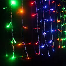 Connectable Icicle Lights Outdoor Specialty Decorative Lighting String Lights 180 White Led