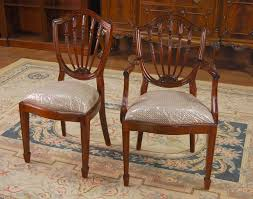 Antique Shield Back Dining Room Chairs - Shield back dining room chairs