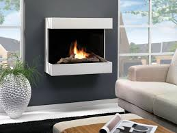 image of wall mounted ethanol fireplace