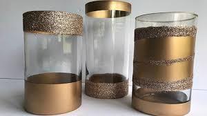 Diy Gold Candle Holders Diy Gold Candle Holders Centerpiece Idea Youtube