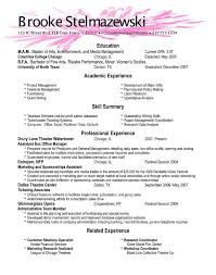 Fresh Design How To Do A Good Resume Examples Shining Of Skills How To Do
