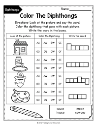 If you're looking for free printable phonics activities, you'll find plenty here as well. Diphthong Activities Bundle Phonics Rules Vowel Diphthongs Worksheets As Decimal Print Vowel Diphthongs Worksheets Worksheet Math Test Sheets Grade 8 Math Textbook Answers 8th Grade Algebra 1 Worksheets Grade 10 Math Paper