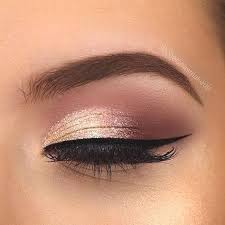 rose gold eye makeup ideas