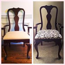 reupholster chair seat brilliant fascinating fabric to reupholster dining room chairs for your recovering dining room