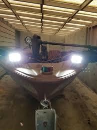 Boat Flood Lights 12v 24v 18w Flood 2 Pair Spreader Led Deck Marine Lights