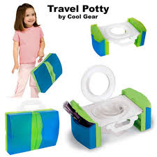 travel potty chair portable with handles and storage