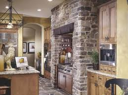 Kitchen Floor Material Outstanding Backsplash Using Cobblestone Material Myohomes
