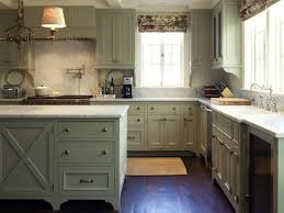 Green And Grey Kitchen Kitchen Antique Gray Kitchen Cabinets White Sink With Brushed