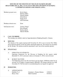 Board Minutes Examples Rome Fontanacountryinn Com