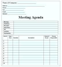 Weekly Staff Meeting Agenda Template Staff Meeting Agenda Template Word