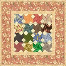 Free Miniature Quilt Patterns & Scrappy Miniature Whirlwinds Quilt Adamdwight.com