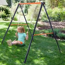 details about premium heavy duty tree porch swing stand frame set outdoor for garden lawn