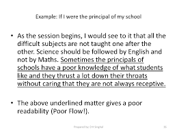 grammar sliderbase example if i were the principal of my school