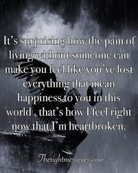 Broken Heart Quotes Beauteous 48 Powerful Broken Heart Quotes Messages The Right Messages
