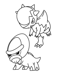 20 Shieldon Coloring Page Ideas And Designs