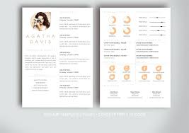 Amazing Creative Resume Template In Templates Of Design Professional ...