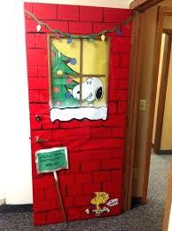 office christmas door decorating ideas. Exellent Door Door Decorations For Christmas Contest Story Image  And Office Christmas Door Decorating Ideas A