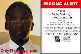 Georgia - Bobby Carbaugh - Missing Alert