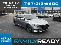 certified pre owned 2019 honda accord