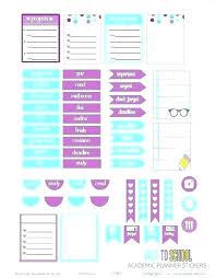 Free Homework Planner School Planner Printable Free School Assignment Planner Printable