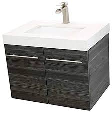 Dark bathroom vanity Double Sink Image Unavailable Amazoncom Windbay 24
