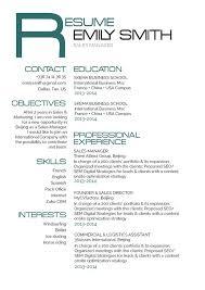 Good Font For Resume A Good Resume Geek Ish Resume Mycvfactory