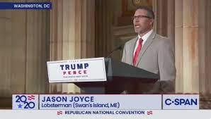 Watch Maine Lobsterman Jason Joyce Speak at the Republican National  Convention