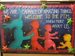 art craft ideas and bulletin boards for elementary s ptm bulletin board bulletinboard