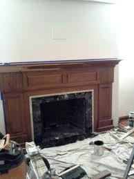 how to build a fireplace fireplce mntel outdoor with cinder blocks making mantel in existing home