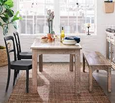Dining room furniture small spaces Small Condo Thalia Dining Table Thalia Dining Table Pottery Barn Small Dining Room Furniture Small Dining Sets Pottery Barn