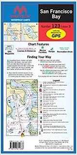 San Francisco Bay Waterproof Chart 123 Edition 3 Maptech