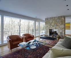 Furniture: Living Room Design With Mid Century Modern And ...