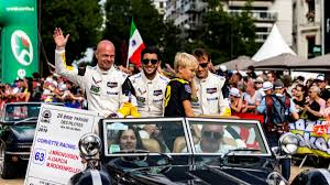 The Le Mans Driver Parade Is Absolutely Bonkers