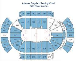 Coyotes Seating Chart Arizona Coyotes Tickets Gila River Arena Preferred Seats