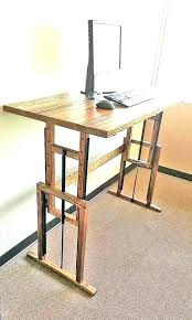 superb diy sit stand desk standing legs property build adjustable fresh pertaining to d74