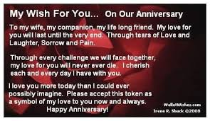 My Wife Quotes Stunning My Wish For You On Our Anniversary To My Life My Companion My Life