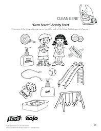 Hand Washing Coloring Pages For Preschoolers K 5 Hand Hygiene ...