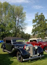 1940 Mercedes-Benz 770 W150 at the Meadow Brook Concours d'Elegance