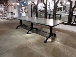 Concrete Top Dining Tables Concrete Top Dining Table Hudson Goods Blog