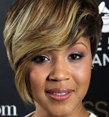 fancy short hairstyles for black women cute long bangs