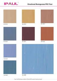 hospital geneous sheet vinyl uv coated non slip flooring directional genous pvc resin